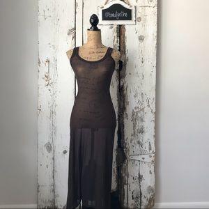 Jean Paul gaultier maille classique mesh dress